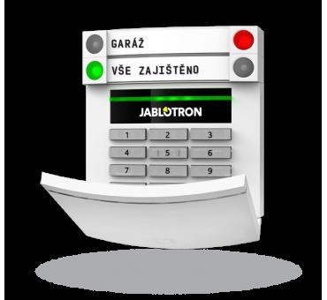JA-113E BUS žični dostopni modul z RFID čitalcem in tipkovnico