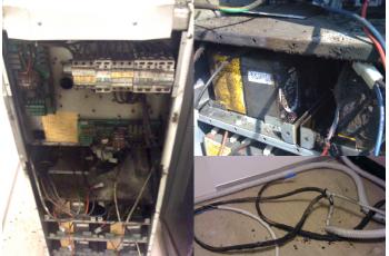 Požar na baterijah slabo vzdrževane UPS naprave
